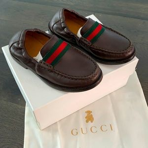 Gucci Kids loafers size 9 Brown